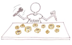 El técnico de selección de RRHH en acción